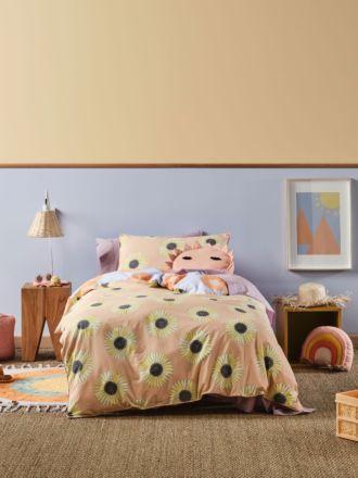 Hello Sunshine Quilt Cover Set