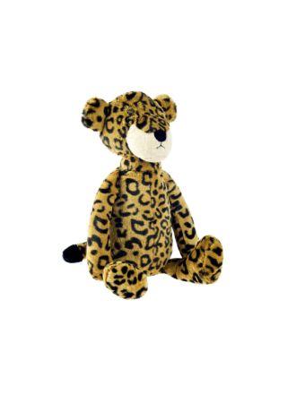 Lenny Leopard Novelty Cushion