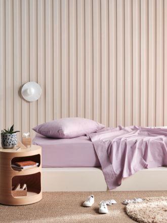 Lollipop Orchid Haze 225TC Cotton Sheet Set