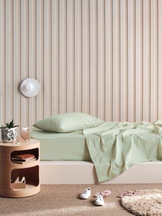 Lollipop Wasabi Green 225TC Cotton Sheet Set