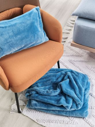 Milly Blue Throw