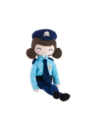 Police Officer Emmy Novelty Cushion