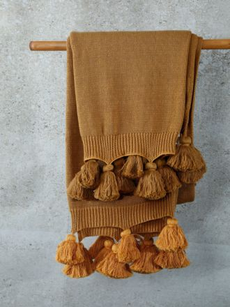 Birch Ochre Throw