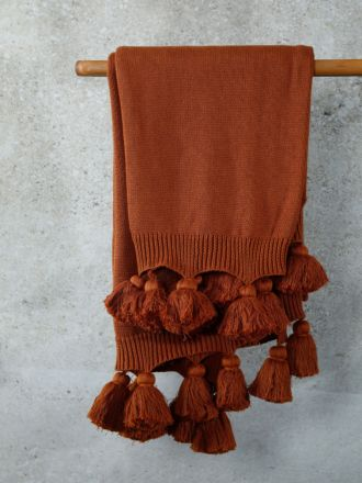 Birch Terracotta Throw