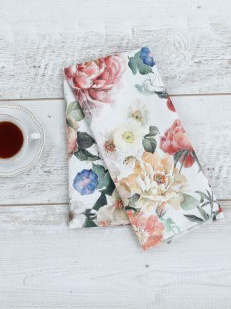 Blooming Tea Towel