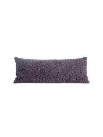 Malta Plum Cushion 35x90cm