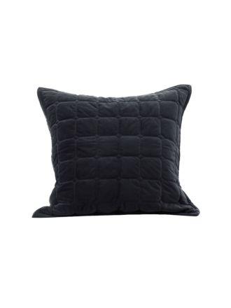 Meeka Ebony European Pillowcase