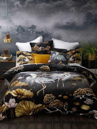 Orient Midnight Quilt Cover Set