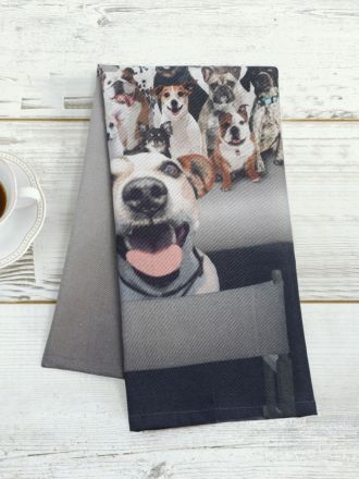 Photobomb Tea Towel