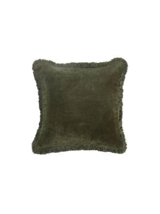 Sabel Olive Cushion 50x50cm