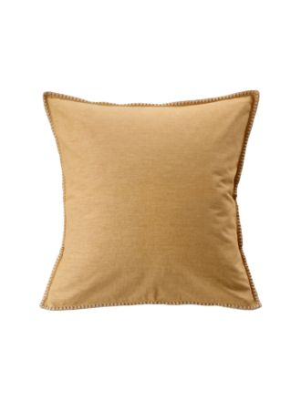 Stitch Ochre European Pillowcase