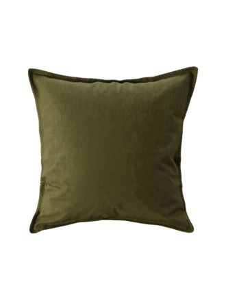 Stitch Olive European Pillowcase