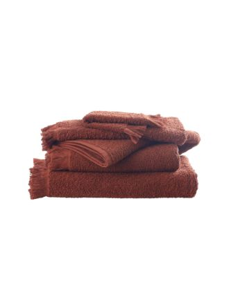 Tusca Clay Towel Collection