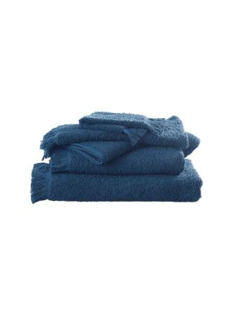 Tusca Teal Towel Collection