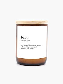 Dictionary Meaning Baby-Tulum Soy Candle 260g