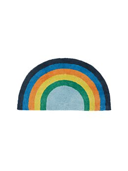 Rainbow Magic Blue Floor Mat
