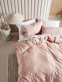 Straten Rose Flannelette Quilt Cover Set