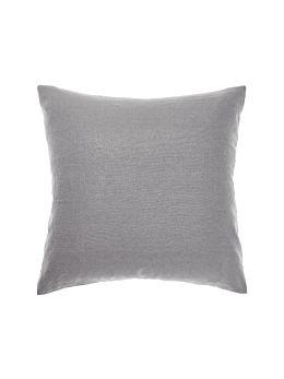 Nimes Ash Linen European Pillowcase