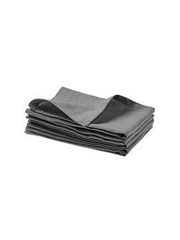 Nimes Ash Linen 4-Piece Napkin Set