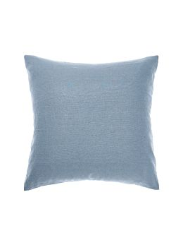 Nimes Nightfall Blue Linen European Pillowcase