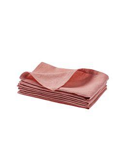 Nimes Rosette Linen 4-Piece Napkin Set