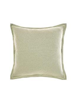Nimes Wasabi Linen Tailored Cushion 48x48cm