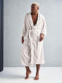 Plush Cream Robe