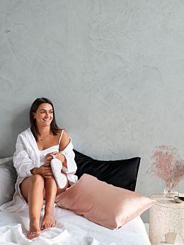 Silk Blush Pillowcase
