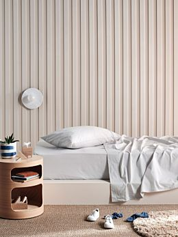 Lollipop Grey Moon 225TC Cotton Sheet Set