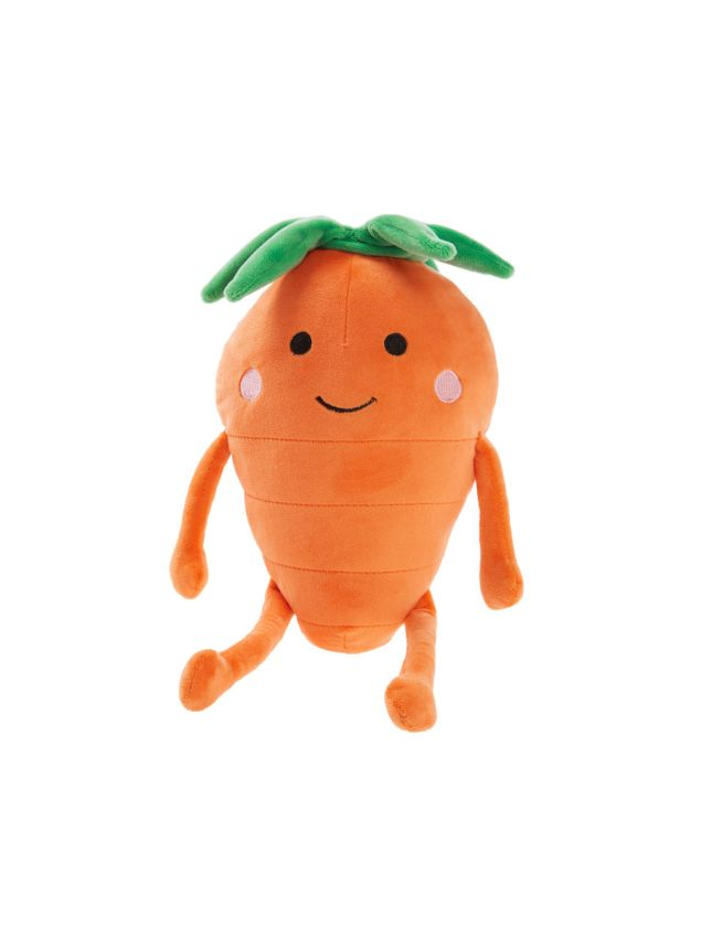 Happy Carrot Novelty Cushion