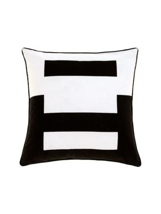 Triplicity Black Cushion 45x45cm