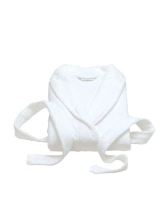 Super-Soft White Bath Robe