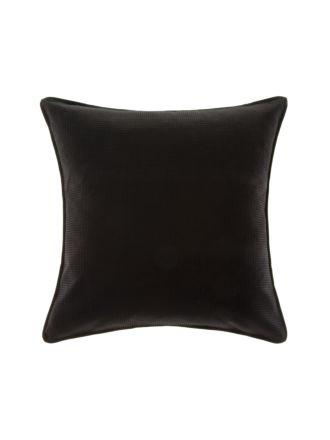 Waffle Black European Pillowcase