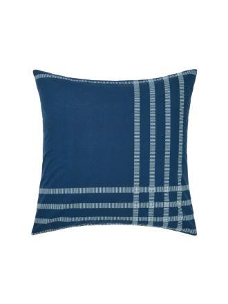 Cason Navy European Pillowcase