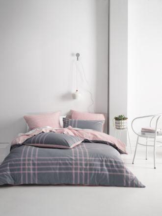 Cason Pink Quilt Cover Set