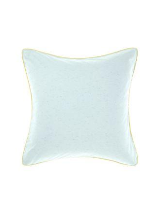 Cora Aqua European Pillowcase