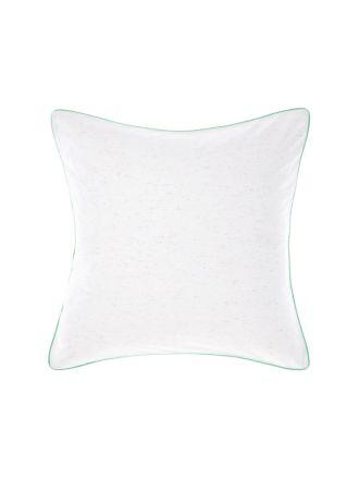 Cora White European Pillowcase
