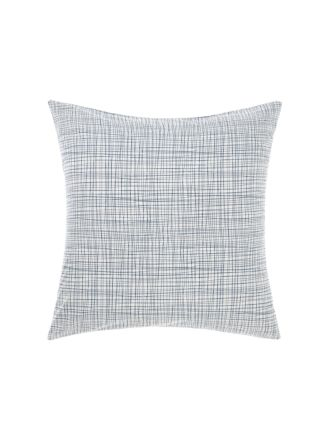 Meiko Navy European Pillowcase