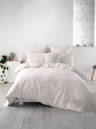Meiko Pink Quilt Cover Set