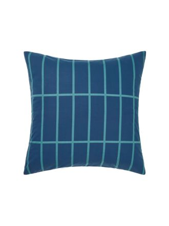 Vasco Teal European Pillowcase