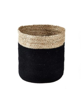 Equador Black Storage Basket - Medium