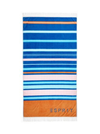 Esprit Paradiso Navy Beach Towel