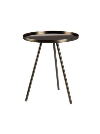 Amata Nickel Side Table