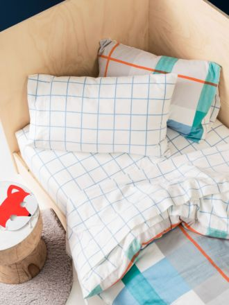 Blanky Blue Flannelette Sheet Set