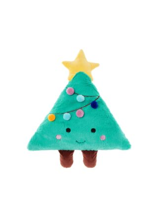 Christy Christmas Tree Novelty Cushion