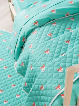 Foxy Cot Coverlet