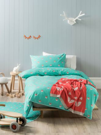 Foxy Quilt Cover Set