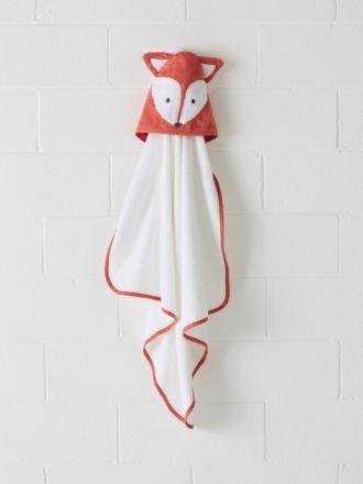 Foxy Hooded Bath Towel