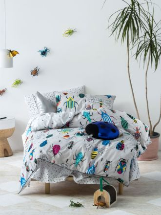 Insectarium Quilt Cover Set