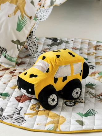 Kalahari Safari Truck Novelty Cushion